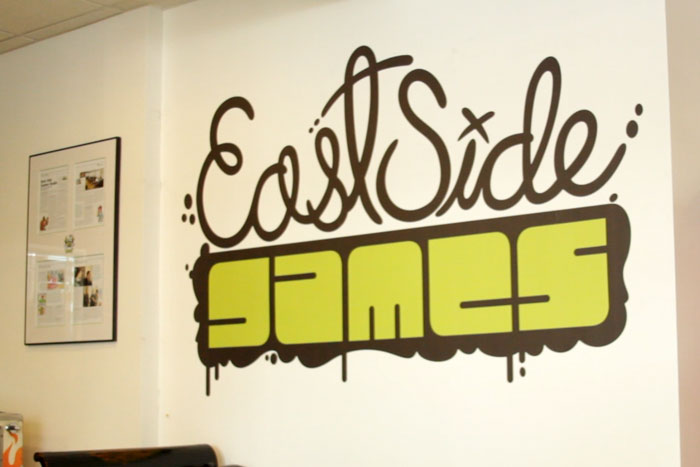 East Side Games Wall Logo