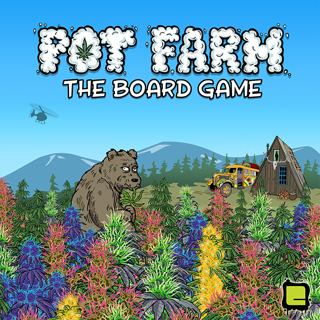 Pot Farm Board Game Available on Amazon
