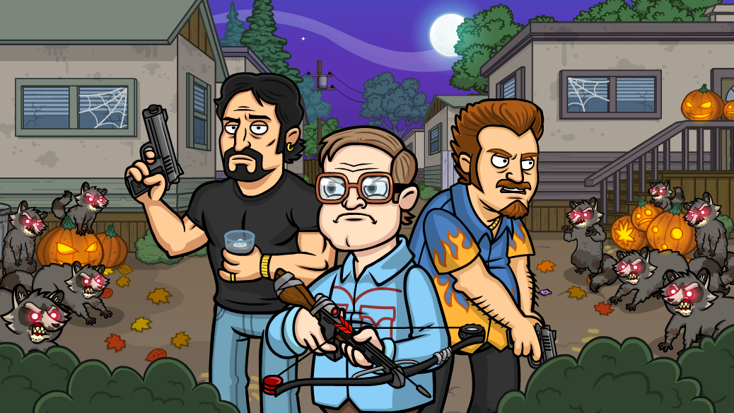 Trailer Park Boys Greasy Money Halloween Event - Zombie Sunnyvale